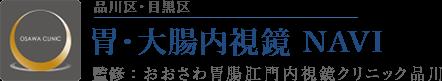 品川区・目黒区 胃・大腸内視鏡 NAVI 監修:おおさわ胃腸肛門クリニック