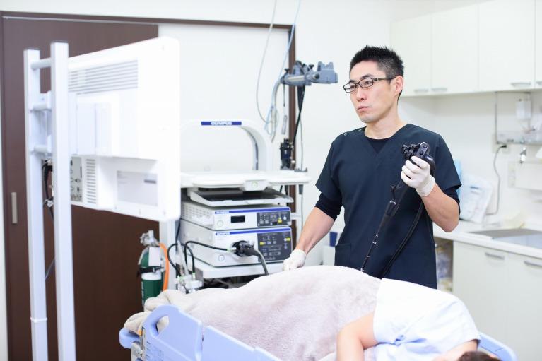 楽に受けられる大腸内視鏡検査